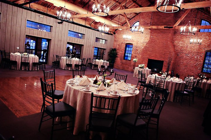 the wedding and reception were held at elegant cork factory hotel in lancaster pa newly red