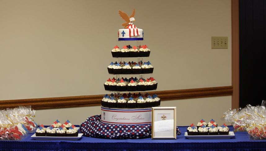 Eagle Scout Cake Stand