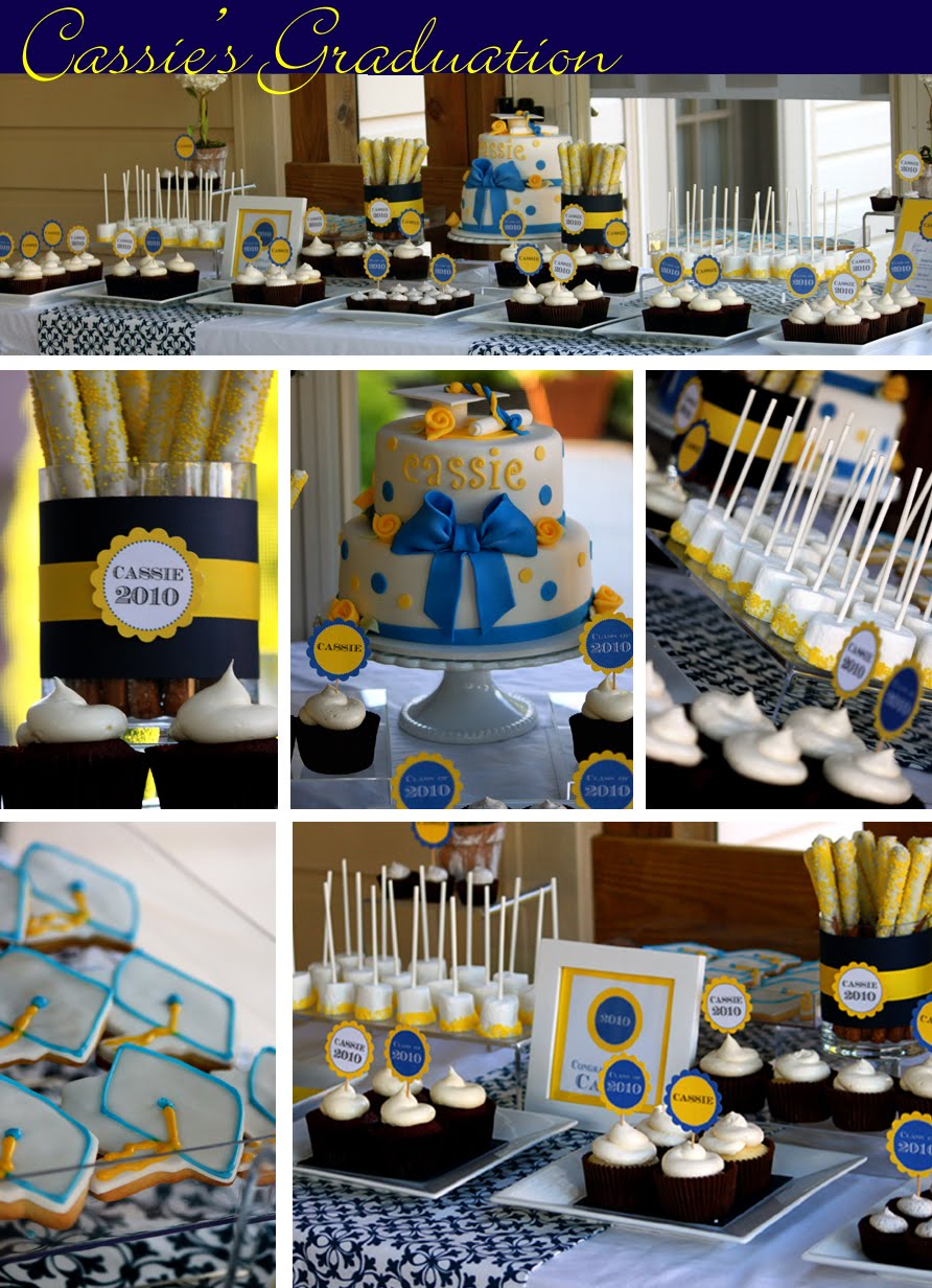 Cassie's Graduation Dessert Table | thecouturecakery