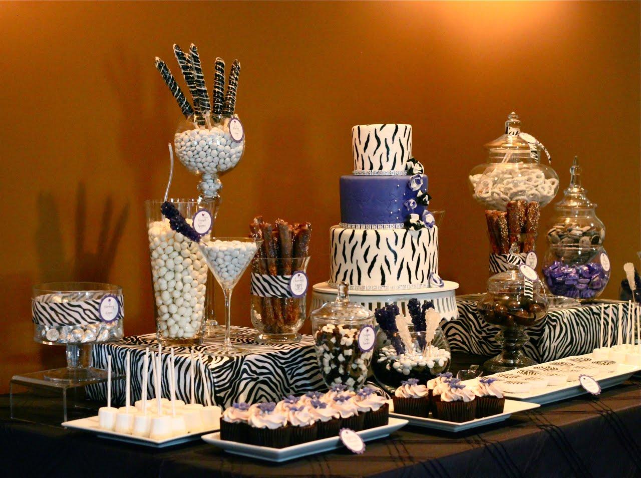 Ashley s zebra theme bridal shower thecouturecakery - Bridal shower theme ideas for fall ...
